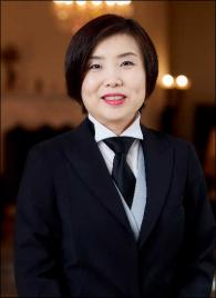 Angela Zhang from China - Graduate of The International Butler Academy