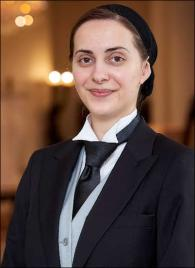 Anda Cucian from Rumania - Graduate of The International Butler Academy