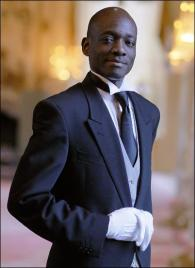 Calleb Oyucho from Kenya - Graduate of The International Butler Academy
