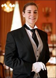 Catherine Turmes from Luxembourg - Graduate of The International Butler Academy