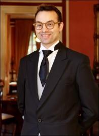 Francois Charles Courberand from France - Graduate of The International Butler Academy