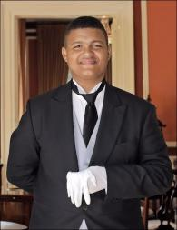 Dillan Sampson from South Africa - Graduate of The International Butler Academy