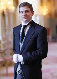 Francesco Ernst  from Switzerland - Graduate of The International Butler Academy