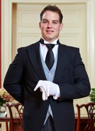 Parker Hommy from the USA - Graduate of The International Butler Academy
