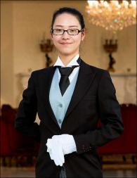 Jinyu Xu from China - Graduate of The International Butler Academy
