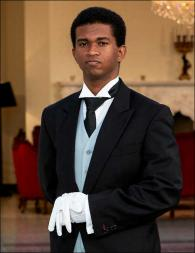 Krishna Narine from Jamaica - Graduate of The International Butler Academy