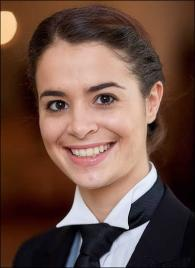Laura Bouche from France - Graduate of The International Butler Academy