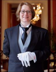 Monika Baer from Germany - Graduate of The International Butler Academy