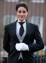 Olga Vellis from Greece - Graduate of The International Butler Academy