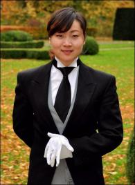 Queenie Feng from China - Graduate of The International Butler Academy