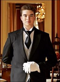 Rhys Edwards from South Africa - Graduate of The International Butler Academy