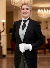 Robin Vroom from The Netherlands - Graduate of The International Butler Academy