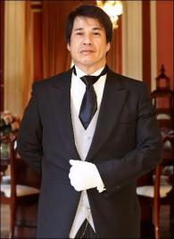 Roderick Rosales from the Philippines - Graduate of The International Butler Academy