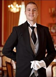 Szabolcs Biro from Hungary - Graduate of The International Butler Academy