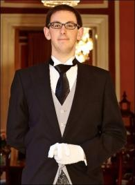 Samuel Thibault from Canada - Graduate of The International Butler Academy