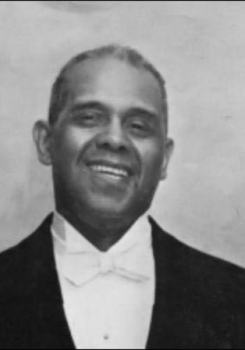 Alonzo Fields, Chief Butler for the White House under President Truman