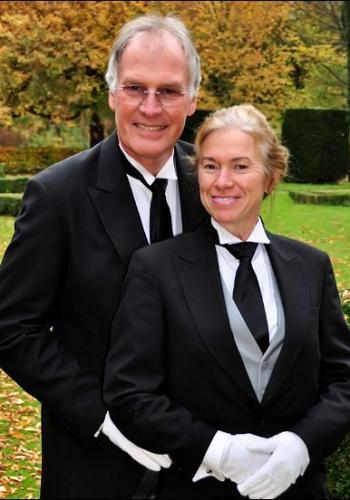Mr. and Mrs. Kaletsch - Graduates of The International Butler Academy