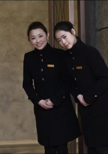 Graduates of The International Butler Academy in China