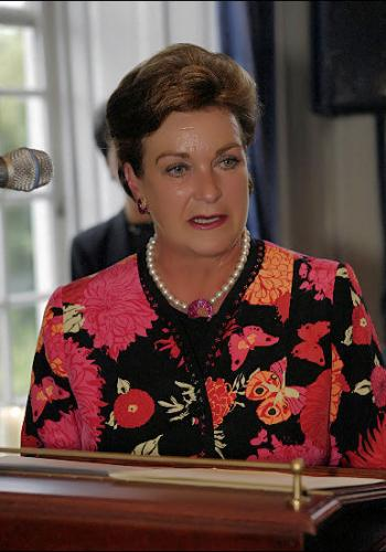 Mrs. Monique Heijn - Guest speaker at the graduation ceremony at The International Butler Academy