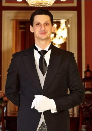 Laurentiu Popescu from Rumania - Graduate of The International Butler Academy