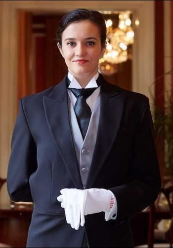 Cristina Solonari from Rumania - Graduate of The International Butler Academy