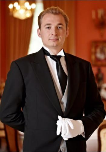 Vasily Stetsyuk from Ukraine - Graduate of The International Butler Academy